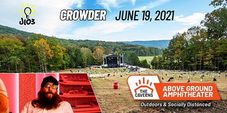 Crowder at The Caverns Above Ground Amphitheater tickets