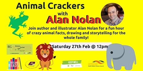 Animal Crackers with Alan Nolan tickets
