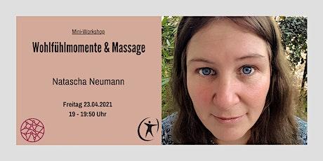 Power Frauen Online Woche - Wohlfühlmomente & Massage Tickets