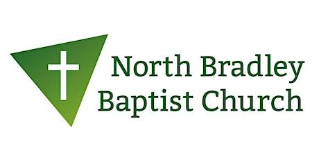 North Bradley Baptist Church service tickets