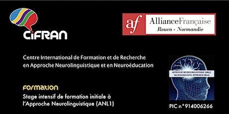 ANL1- Rouen - Stage de formation initiale à l'Approche Neurolinguistique billets