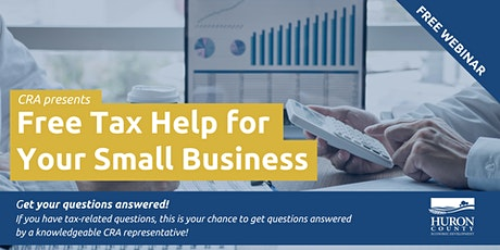 Free Tax Help for Your Small Business tickets