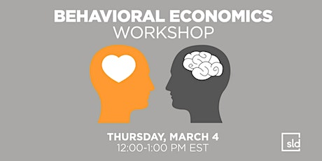 Behavioral Economics Workshop tickets