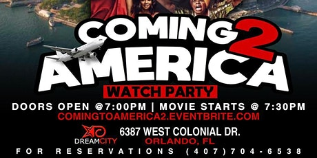 """""""Coming 2 America"""", Watch Party!!! tickets"""