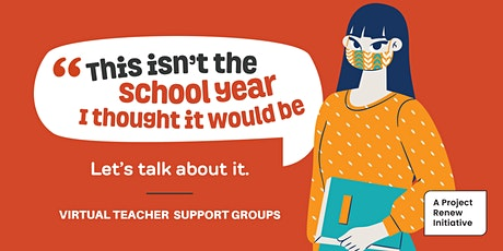 Let's Talk About It - Teacher Support Group tickets