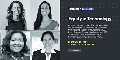 Equity in Technology tickets