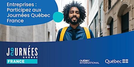 Journées Québec France billets