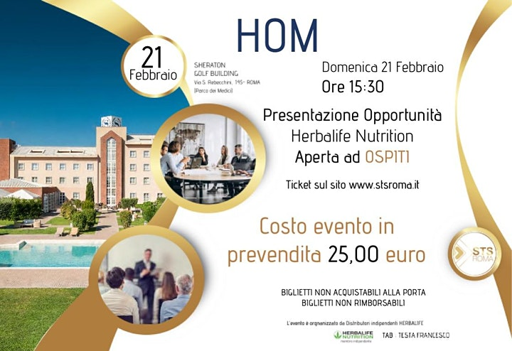 Immagine HOM 2021 | Business Opportunity Herbalife Nutrition