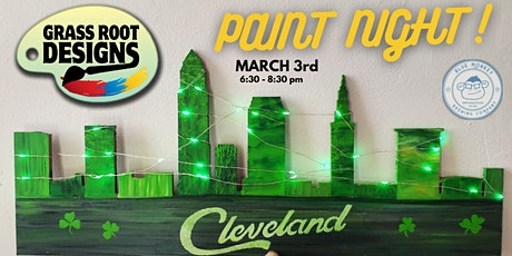 St. Patty's Paint Night at Blue Monkey Brewing Co. tickets
