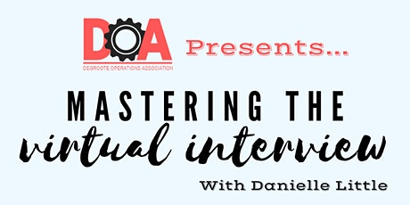 Workshop: Mastering the Virtual Interview tickets