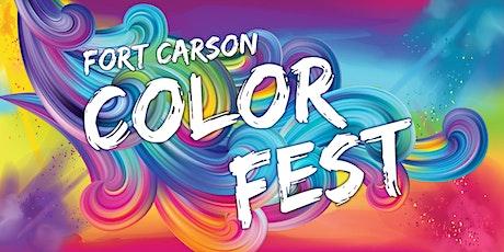 2021 Fort Carson Color Run tickets