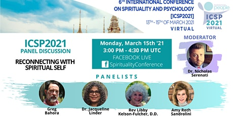 """Panel discussion: """"Reconnecting with Spiritual Self"""" tickets"""