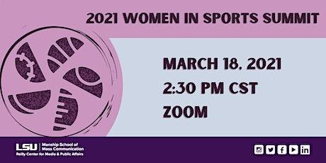 2021 Women in Sports Summit tickets