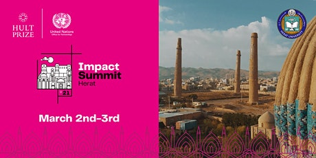 Hult Prize 2021 Impact Summit Herat tickets