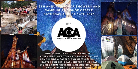 6th Annual Meteor Showers & Camping at Bishops Castle with ACA tickets