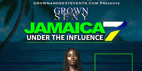 UNDER THE INFLUENCE JAMAICA EXCURSIONS tickets