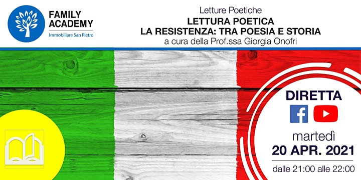 Immagine LETTURA POETICA - LA RESISTENZA: TRA POESIA E STORIA