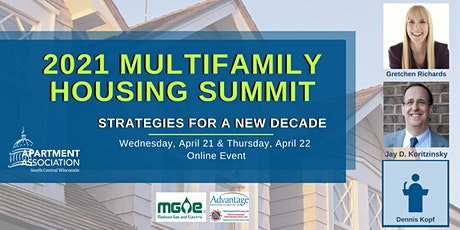 Multifamily Housing Summit 2021 tickets