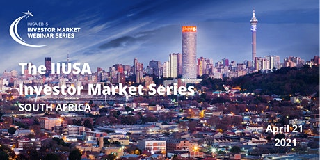 IIUSA Investor Market Webinar Series: South Africa tickets