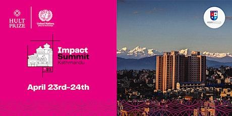 Hult Prize 2021 Impact Summit Kathmandu tickets