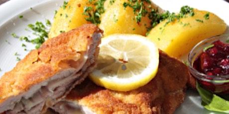 Online German Feast: Weiner Schnitzel & Spaetzle tickets