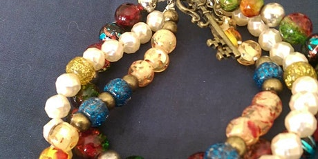 Beaded jewellery making workshop tickets