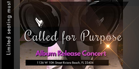Called for Purpose  Virtual/In person Album Release Concert Tickets
