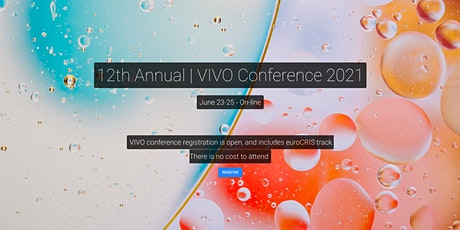 2021 VIVO Conference tickets