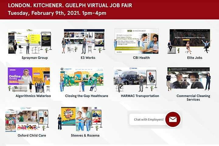 Windsor Virtual Job Fair - April 29th 2021 image