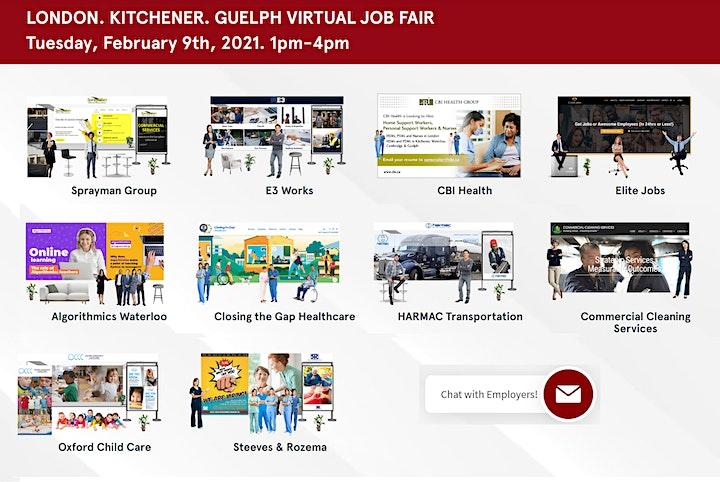 Guelph Virtual Job Fair - April 29th 2021 image