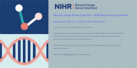 NIHR - Research Design Service South East - Research Journey Seminar tickets