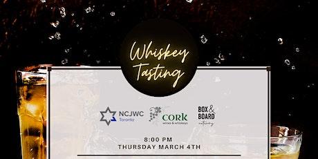 Whiskey Tasting (Virtual) tickets