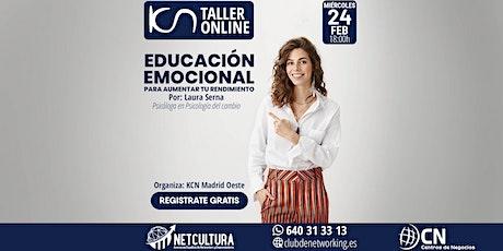 Taller Online Educación Emocional 24Feb entradas
