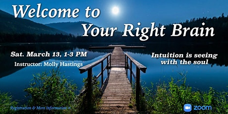 Welcome to Your Right Brain with Lily Dale Registered Medium Molly Hastings tickets