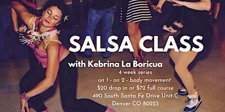 Salsa (4 week series) tickets