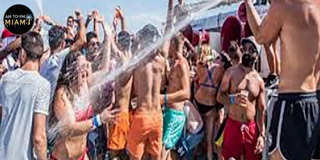 AM to PM Miami BOAT PARTYZ - 3 HRS ALL YOU CAN DRINK AND EAT tickets