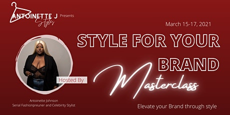 Style For Your Brand Masterclass tickets