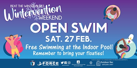 Ellsworth AFB Wintervention Open Swim tickets