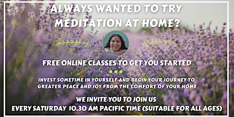 Introduction to Meditation at Home tickets