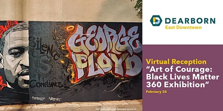 Virtual Reception for Art of Courage: BLM 360 Exhibition tickets