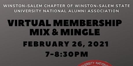 Virtual Membership Mix & Mingle tickets