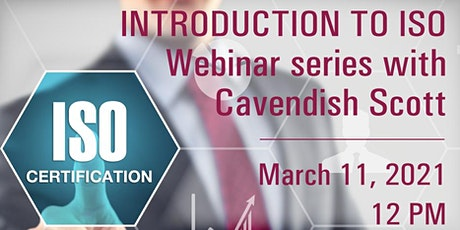 Introduction to ISO Webinar Series tickets