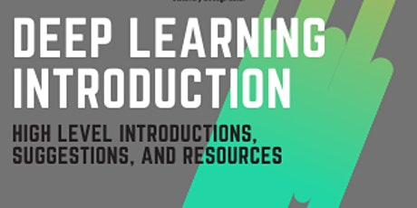 Deep Learning Introduction tickets