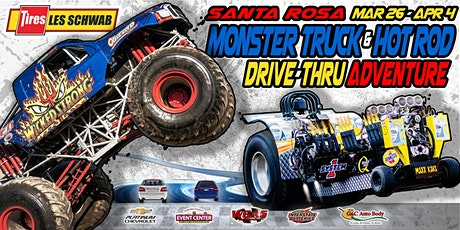Les Schwab Tires Monster Truck & Hot Rod Drive-Thru Adventure (Wed-3/31/21) tickets