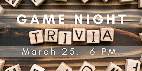Game Night: Trivia! tickets