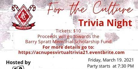 Virtual Trivia Game Night tickets