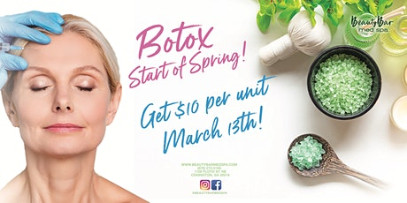 Botox Start of Spring Savings tickets