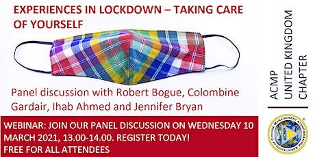 Panel Discussion: Experiences in Lockdown – Taking Care of Yourself tickets