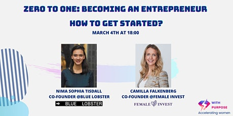 Zero to One. Becoming an entrepreneur. How to get started? tickets