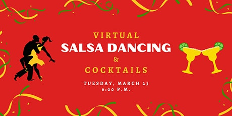 Virtual Salsa Dancing & Cocktails tickets